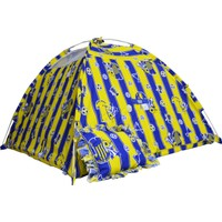 Hopim Çocuk Sarı - Lacivert Taraftar Sağlıklı Oyun ve Uyku Çocuk Çadırı