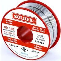 Soldex 1.2 Mm 200 Gr Lehim Teli Sn60 Pb40