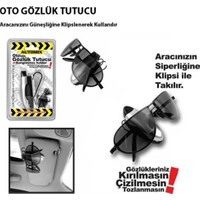 Automix Oto Gözlük Tutucu Klipsli Güneşliğe Geçme