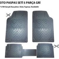 Ldr Fiat Uno İçin Oto Paspas Seti Plus Gri