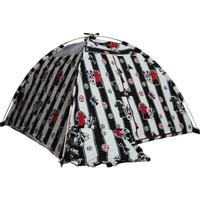Hopim Çocuk -Siyah-Beyaz Taraftar Oyun Ve Uyku Çadırı * Pamuklu Ranforce Kumaş