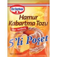 Dr.Oetker 5'li Hamur Kabartma Tozu 50 Gr