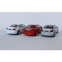 Welly Toyota Corolla - 3'lü Set