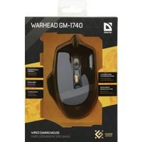Defender GM-1740 Warhead Kablolu Oyuncu Mouse 52740
