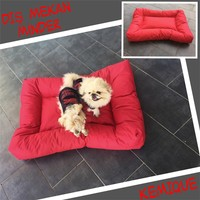 Kemique 2XL Dış Mekan Köpek Minderi - Kırmızı