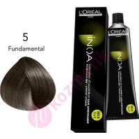 Loreal İnoa Amonyaksız Saç Boyası No: 5 Fundamental 60Ml.