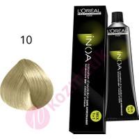 Loreal İnoa Amonyaksız Saç Boyası No: 10 60Ml.