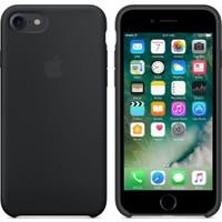 Apple iPhone 7 / 8 Orjinal Silikon Kılıf Siyah (İthalatçı Garantili)