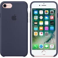 Apple iPhone 7 / 8 Orjinal Silikon Kılıf Gece Mavisi (İthalatçı Garantili)