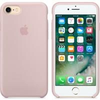 Apple iPhone 7 / 8 Silikon Kılıf Kum Pembesi (İthalatçı Garantili)