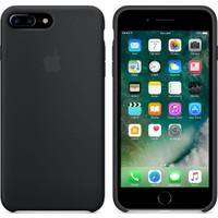 Apple iPhone 7 Plus / 8 Plus Silikon Kılıf Siyah (İthalatçı Garantili)