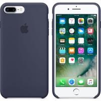 Apple iPhone 7 Plus / 8 Plus Silikon Kılıf Gece Mavisi (İthalatçı Garantili)