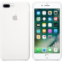 Apple iPhone 7 Plus / 8 Plus Silikon Kılıf Beyaz (İthalatçı Garantili)