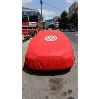 Volkswagen logolu branda tela kumaş
