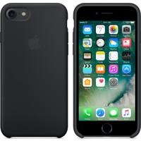 Apple iPhone 8 - iPhone 7 Silikon Kılıf - Siyah - MMW82ZM/A (Apple Türkiye Garantili)