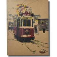 Deffter Krafton Defter 9,5X14 / Kraft İstanbul Small-Tramvay