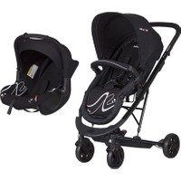 Baby2Go 86050 Millenium Seyahat Sistem Bebek Arabası Siyah
