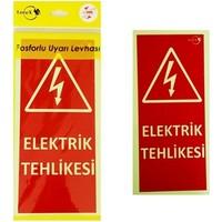 Lorex Lr-Eh Fosforlu Elektrik Tehlikesi Levhası