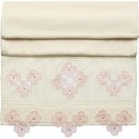 Osmanlı Tekstil İğne Oyalı Havlu El İşi Kadife 50X90 El Yüz Havlusu