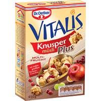 Dr.Oetker Vitalis Knusper Çıtır Multi Meyveli Müsli 450 gr