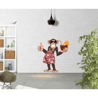 ArtRedGallery Dekoratif Duvar Sticker