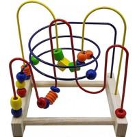 Üçer Ahşap Eğitici Oyuncak Labirent Koordinasyon Oyunu