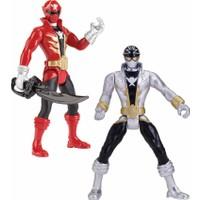 "Bandai Power Rangers Super Mega Force 4\"" Figure & Acc"