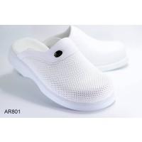 Dr.Arel-801 Orthopedic Sabo Erkek Terlik-Beyaz