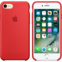 Apple iPhone 7 / 8 Silikon Kılıf Kırmızı (İthalatçı Garantili)