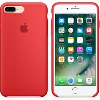 Apple iPhone 7 Plus / 8 Plus Silikon Kılıf Kırmızı (İthalatçı Garantili)