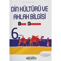 6. Sınıf Din Kültürü ve Ahlak Bilgisi Kazanımlı Soru Bankası Okyanus Yayınları