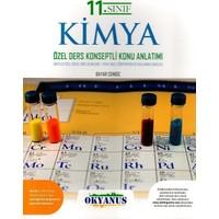 Okyanus Yayınları 11. Sınıf Kimya Özel Ders Konseptli Konu Anlatımlı