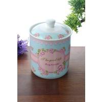 Loveq Porselen Saklama Kabı Thm-Kb2391-004-Mp