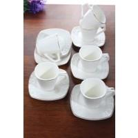 Loveq Porselen 6'Lı Kahve Takımı Thm-Hhp-3016