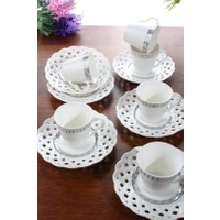 Loveq Porselen 6'Lı Kahve Takımı Thm-Hhp-3023