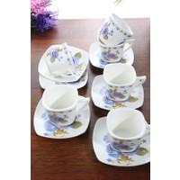 Loveq Porselen 6'Lı Kahve Takımı Thm-Hhp-3013-M