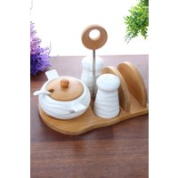 Loveq Porselen Tuzluk Biberlik Seti Thm-Hhp-3082