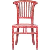Maxxdepo Beautiful Eskitme Sandalye Kırmızı