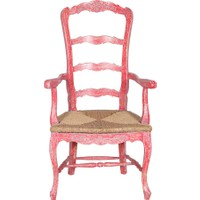 Maxxdepo Champion Maun Kollu Kırmızı Sandalye
