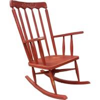 Maxxdepo Crocus Sallanan Sandalye Kırmızı