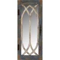 Wenge Home Masif Mango Wood Ayna 40.5x6x98.5 Cm