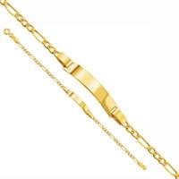 Allegro Gold 'İsim Yazılabilen' Çocuk Künyesi Abk0001