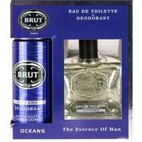 Brut Oceans Edt 100Ml + Deodorant 200 Ml Set