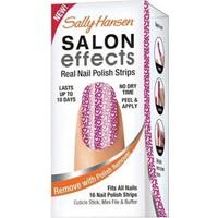 Sally Hansen Salon Effects- Gerçek Ojeden Yapılan Desenli Oje Bandı Cross My Heart