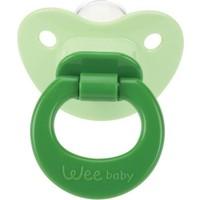 Wee Baby Damaklı Emzik-Yeşil 0-6 Ay