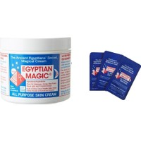 Egyptian Magic All Purpose Skin Cream Cilt Bakım Kremi 118Ml + 3'lü 3Ml Tester