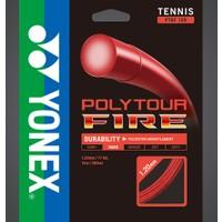 Yonex Pt Fire 120(12M)Tenis Kordajı - Kırmızı