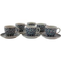 Quartz Ceramics El Yapımı Seramik Kahve Setleri