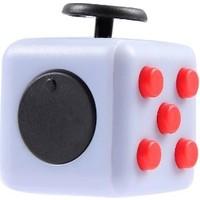 Probiel Orijinal Fidget Cube Kikstarter Versiyon Stres Küpü Gri Siyah Kırmızı