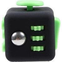 Probiel Orijinal Fidget Cube Kikstarter Versiyon Stres Küpü Siyah Yeşil